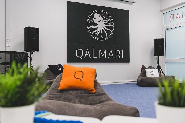 Qalmarin toimisto lounge-tila Turku