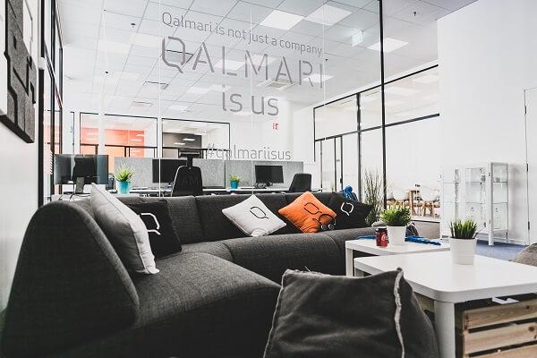Qalmarin toimisto lounge Turku