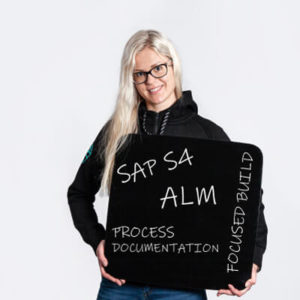 Sini Laurila SAP ALM Specialist_SAP S4, ALM, Process Documentation, Focused Build_QALMARI
