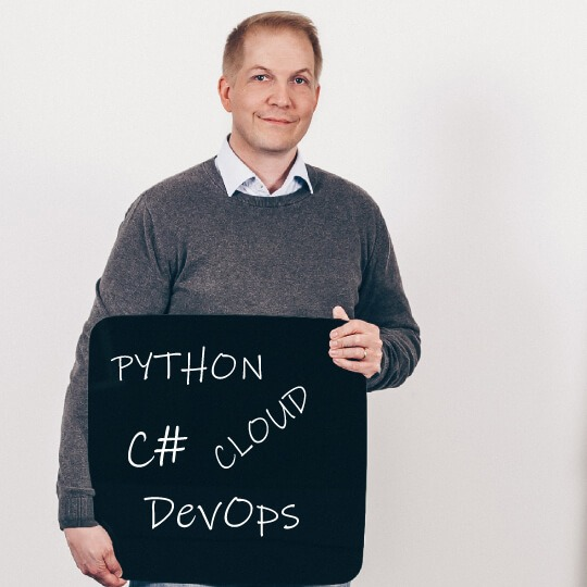Jani Mellin Senior Software Developer_Python, C#, Cloud, DevOps_QALMARI