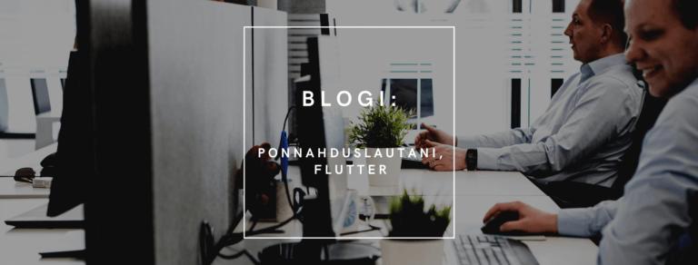 Tekkilonkerot: Ponnahduslautani Flutter_Klaus Jokisuo_QALMARI