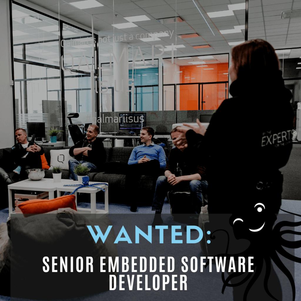 Wanted: Senior Embedded SW Developer_QALMARI