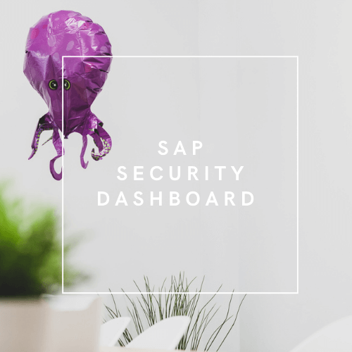 QALMARI_SAP Security Dashboard